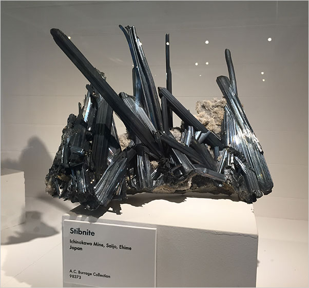 Stibnite photo image