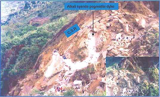 Pegmatite Dykes photo images