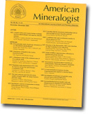 American Mineralogist cover image