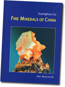 Fine Minerals of China book cover image