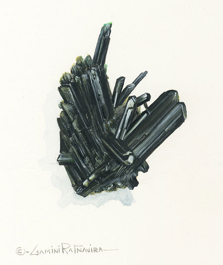Epidote illustration image