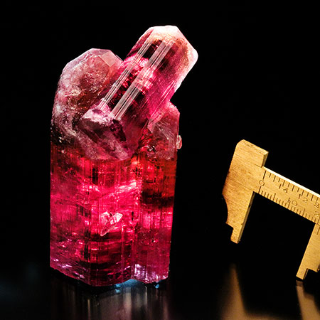 Rubellite Tourmaline photo image