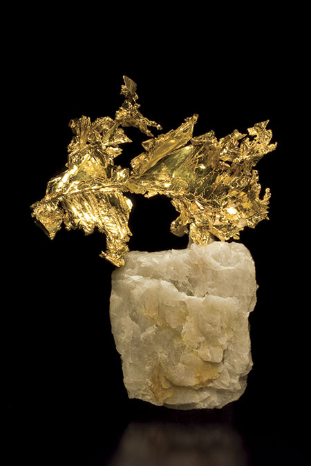 Gold On Quartz photo image