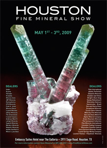 Houston Fine Mineral Show poster image