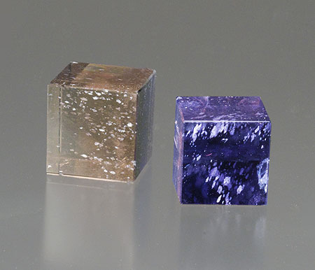 Cordierite Cubes photo image