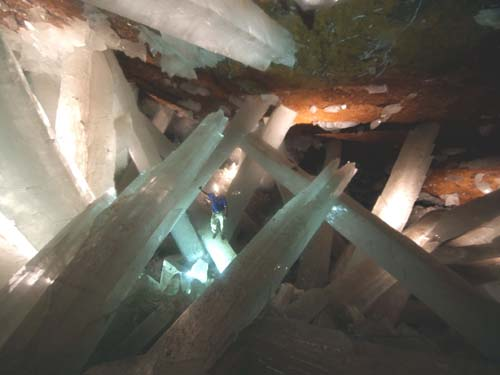 Giant Naica Mine Crystals photo image