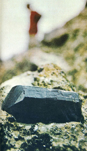 Tanzanite Crystal on Matrix photo image