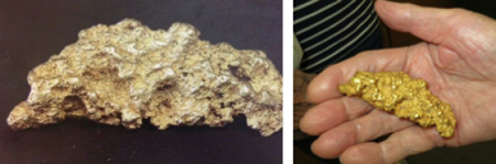 Gold Nugget photo images