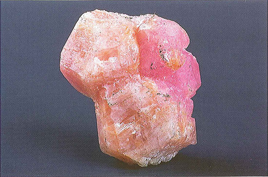 Corundum and Diaspore Crystals photo image