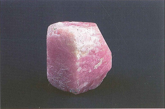 Corundum Crystal of Dolomite Marble photo image
