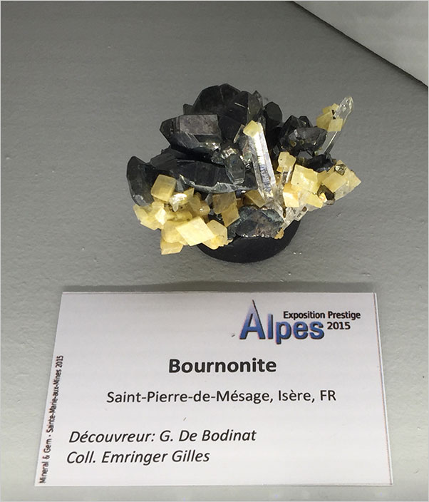 Bournonite photo image