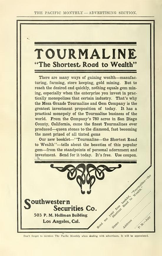 Tourmaline Ad image