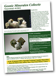 Geonic Mineralen Collectie cover image